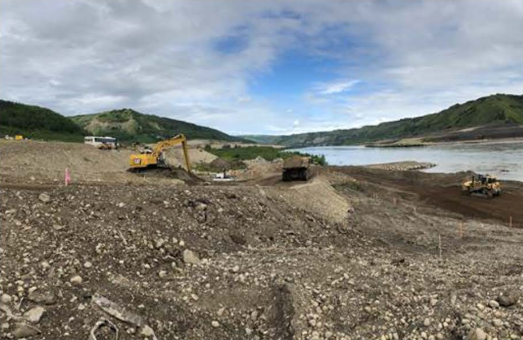 Site C Construction Schedule: July 25- August 7, 2020